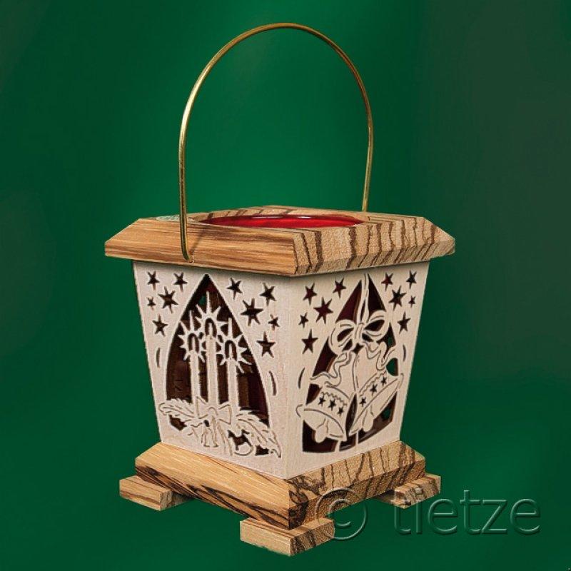 tietze laterne teelichthalter weihnachten holzkunst aus. Black Bedroom Furniture Sets. Home Design Ideas