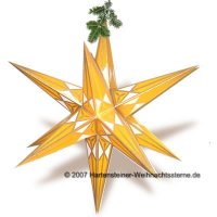 Adventsstern gold/gelb