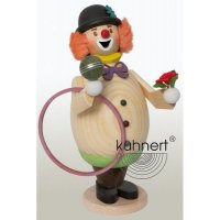 Kuhnert Räuchermann Max als Clown