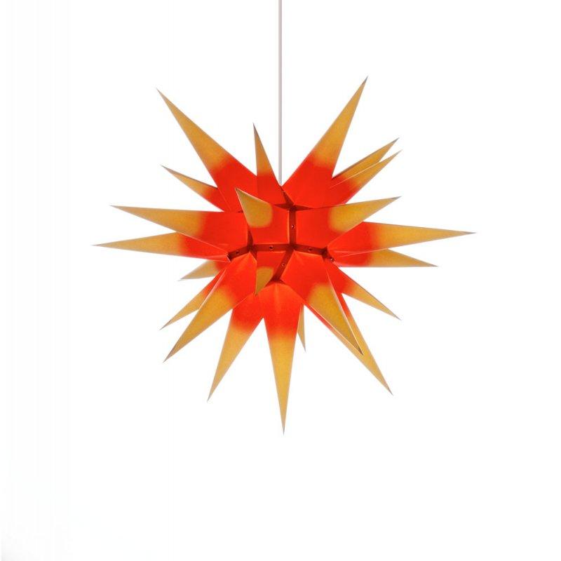 herrnhuter weihnachtsstern i6 gelb roter kern mit. Black Bedroom Furniture Sets. Home Design Ideas