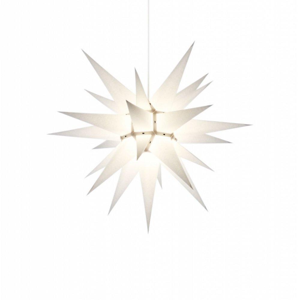 herrnhuter weihnachtsstern i6 wei mit beleuchtung. Black Bedroom Furniture Sets. Home Design Ideas