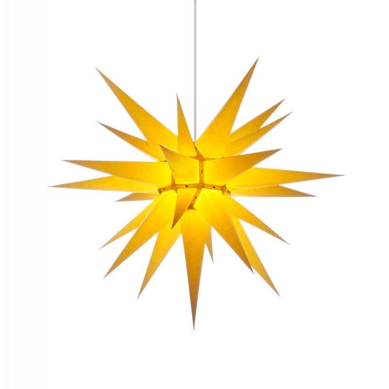 herrnhuter weihnachtsstern i7 gelb holzkunst aus dem erzgebirge 100 original. Black Bedroom Furniture Sets. Home Design Ideas