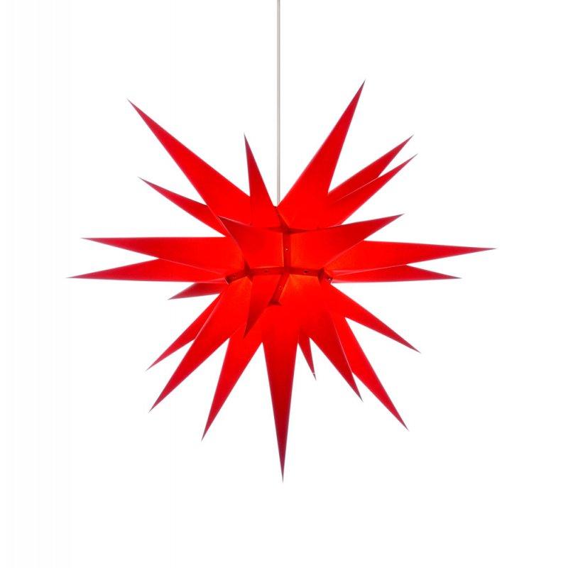 herrnhuter weihnachtsstern i7 rot mit beleuchtung holzkunst aus dem erzgebirge 100 original. Black Bedroom Furniture Sets. Home Design Ideas