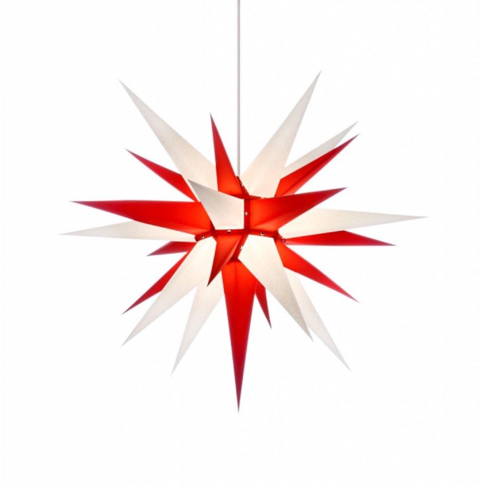 herrnhuter weihnachtsstern i7 wei rot holzkunst aus dem erzgebirge 100 original. Black Bedroom Furniture Sets. Home Design Ideas