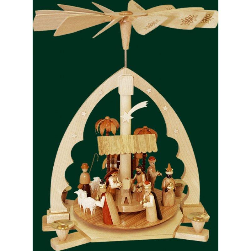 Richard Glsser Pyramid Christi Nativity