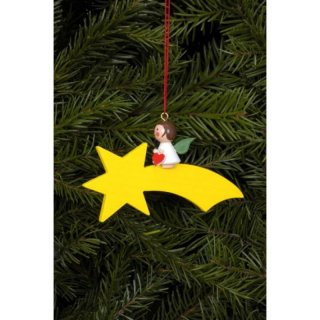 Christian Ulbricht tree decoration angel on comet