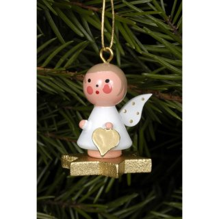 Christian Ulbricht tree decoration angel on a gold star