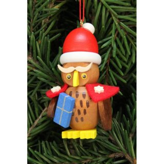 Christian Ulbricht tree decoration owl Santa Claus