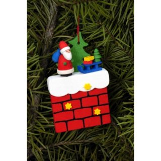 Christian Ulbricht tree decoration fireplace with Santa...