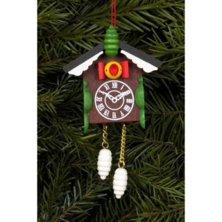 Christian Ulbricht tree decoration cuckoo clock