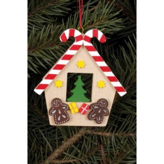 Christian Ulbricht tree decoration gingerbread house with...