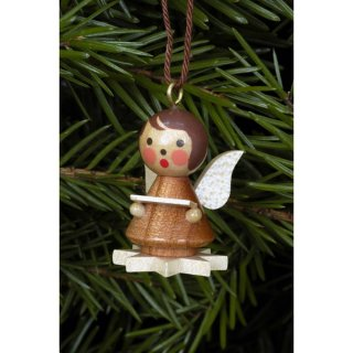 Christian Ulbricht tree decoration mini angel on a star...