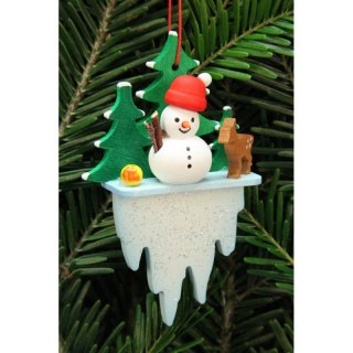 Christian Ulbricht tree decoration snowman on icicles