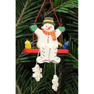 Christian Ulbricht tree decoration snowman on the swing