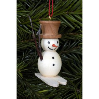 Christian Ulbricht tree decoration snowman on ski