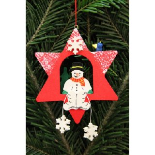 Christian Ulbricht tree decoration snowman in the star