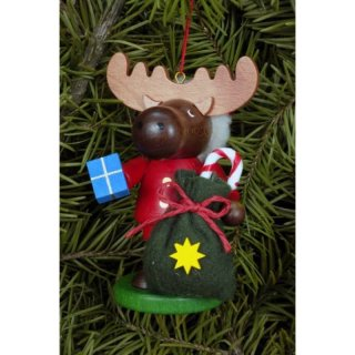 Christian Ulbricht tree decoration moose Santa Claus