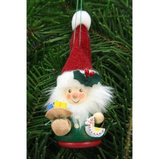 Christian Ulbricht tree decoration teeter man Santa Claus