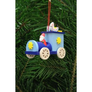 Christian Ulbricht tree decoration Santa Claus in the truck