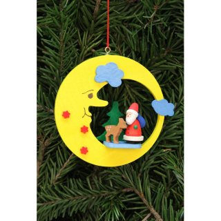 Christian Ulbricht tree decoration Santa Claus with Bambi...