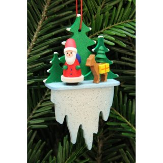 Christian Ulbricht tree decoration Santa Claus with deer...