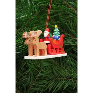 Christian Ulbricht tree decoration Santa Claus with...