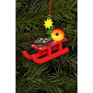 Christian Ulbricht tree decoration christmas sled