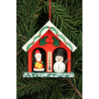 Christian Ulbricht tree decoration weather house