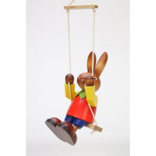 Christian Ulbricht rabbit with swing