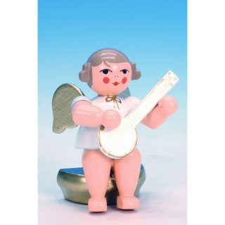 Christian Ulbricht music angel sitting with banjo