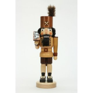 Christian Ulbricht nutcracker miner with ore nature
