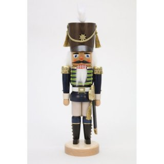Christian Ulbricht nutcracker guard soldier blue glazed