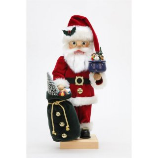 Christian Ulbricht nutcracker Santa Claus with game can