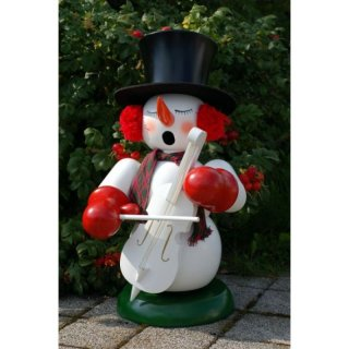 Christian Ulbricht smoker snowman with bass