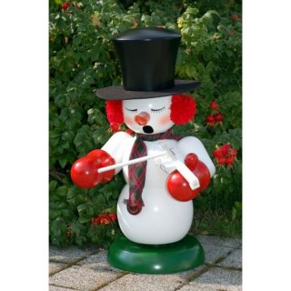 Christian Ulbricht smoker snowman with violin