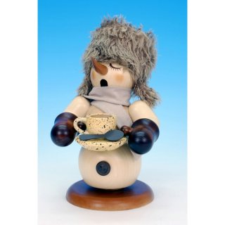 Christian Ulbricht smoker snowman with coffee pot nature