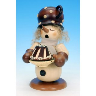 Christian Ulbricht smoker snowman with cake nature