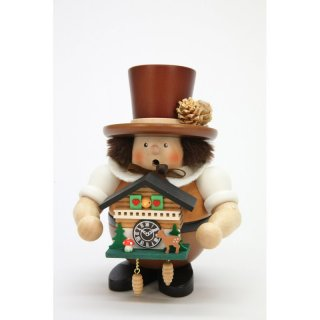 Christian Ulbricht smoker black forest guy with cuckoo clock