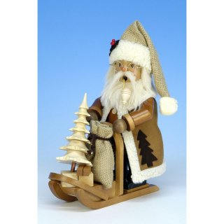 Christian Ulbricht Smoker Santa Claus with carriage nature