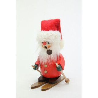 Christian Ulbricht smoker Santa Claus with ski