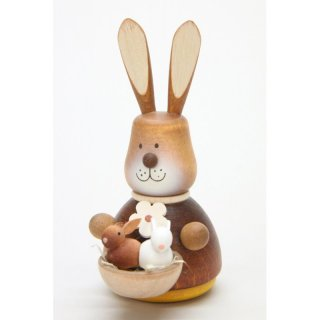 Christan Ulbricht teeter man rabbit with baby