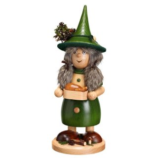 DWU Smoke woman with pan green