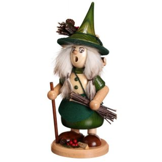 DWU Smoke woman with twigs green