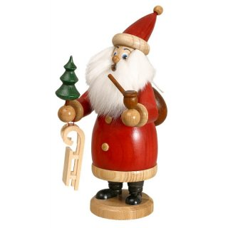 DWU Smoker Santa Claus red