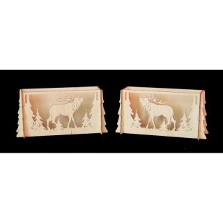 Decor and Design Candle arch elevation deer