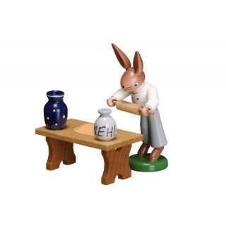 ESCO baker rabbit with rolling pin