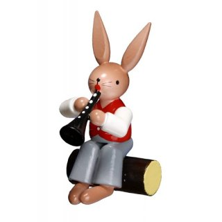 ESCO rabbit with clarinet