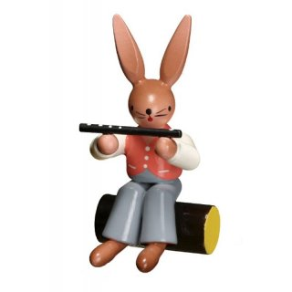 ESCO rabbit with flute