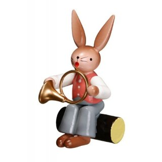 ESCO rabbit with french horn