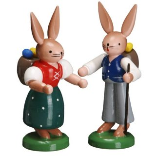 ESCO rabbit couple with basket